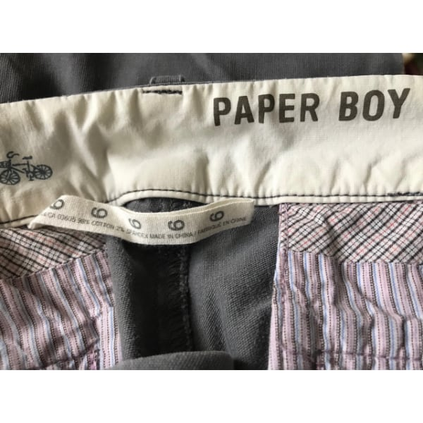 Paper Boy Pants (grey) 1
