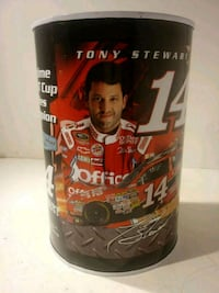 NASCAR TONY STEWART TIN COIN BANK