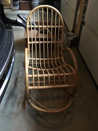 Vintage Bamboo Rocker White Plains, 30642