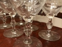 Glass Stemware  Mississauga, L5V