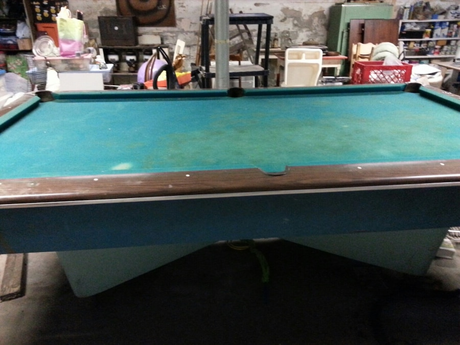 Regulation Size AMF Grand Prix Pool Table.