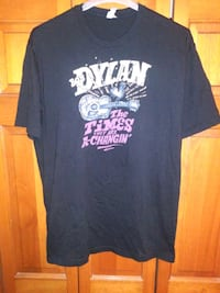 MENS 2XL BOB DYLAN TIMES THE ARE A-CHANGIN SHIRT Naperville, 60563