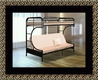 Twin futon bunk bed frame  Bowie