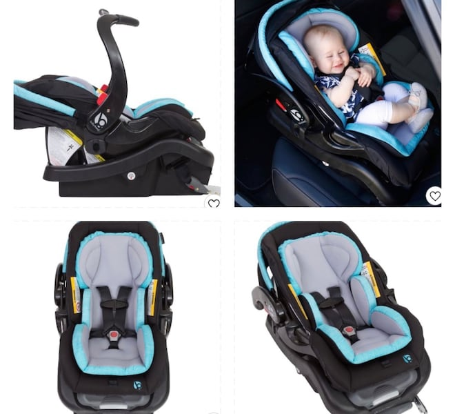 Two baby essentials babytrend stroller and car seat removable  9ca08fc0-6ee1-4e56-91f0-9e6554492a31