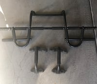 Doorway wide grip pull up bar with push up bars  Las Vegas, 89117