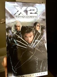 X2 X-men United movie (cassette/video tape) 多伦多, M8Z 1G6