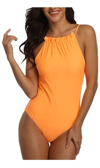 Orange Swimsuit by Prettygarden Large