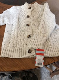 5T boys button up sweater