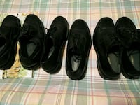 two pairs of black leather shoes Bakersfield, 93305