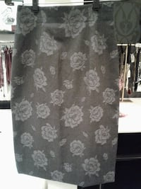 gray and white floral skirt Austin, 78735