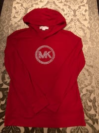 red and white pullover hoodie Toronto, M9V 2H7