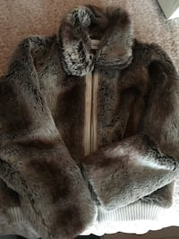 SANCTUARY Faux Fur Glamorous Jacket Rockville