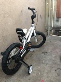 white and black BMX bike Escondido, 92025