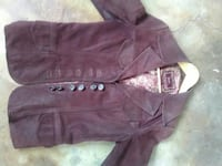 Guess leather jacket. Worn nicely