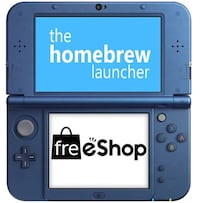 Hacking service for any 3DS/2DS system