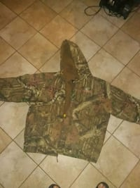 Camo winter coat