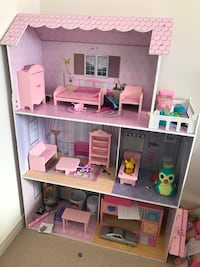 Doll house Kitchen Barbie Mansion