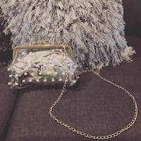 New! Pearl Clutch Bag  Washington, 20018