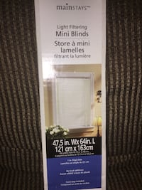 light filtering blinds! never used in box Montréal, H4G 2S6