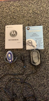 Hands-free Bluetooth headset. Can use hands-free while driving car walking in the house doing chores etc. Everything included two books charger and hands free headset