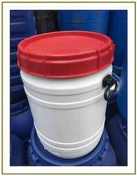 30 Gallon Food Grade Removable Top Barrel (Screw Top) Escondido