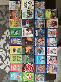 Blu-ray and  dvd movie collection Reno, 89521