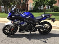 2013 Yamaha FZ6R with 10k Miles  Falls Church