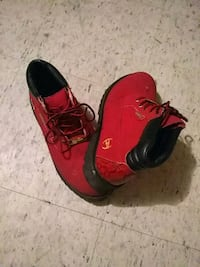 Phat Farm red boots Louisville, 40214