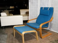 Ikea Poang chair with matching ottoman Las Vegas, 89129