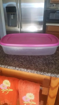 Large 24 cup rubbermaid food storage container