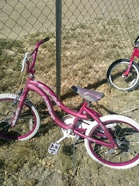 pink and purple bicycle with training wheels Estancia, 87016
