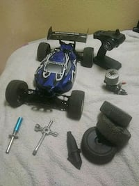 blue and black RC car toy Castroville, 95012