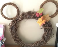 round Mickey Mouse head wreath Frederick, 21701