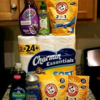 Arm & Hammer detergent and other house hold goods  47 km