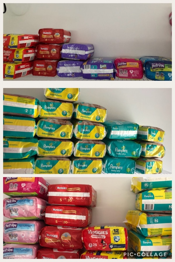 All diaper in the pic $7 each