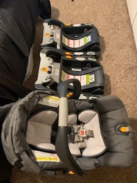 Chicco key fit car seat w/ 2 bases and stroller