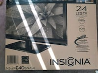 "Insignia LED tv/monitor 24"" with remote control Milpitas, 95035"