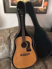 Washburn Acoustic Guitar D-12N