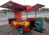 red and black utility trailer Moradabad, 244501