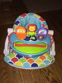 Baby chair with activity tray