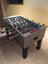 white and black foosball table Columbus, 43110