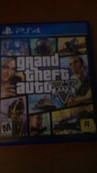 Grand Theft Auto 5 PS4 game case Cheney, 94546