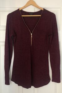 Dynamite Long-Sleeved Shirt with Zipper - Size Small Barrie, L4N 8W3