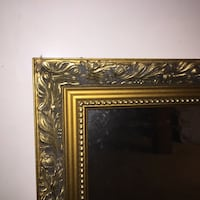Designer Quality Gold Beveled Mirror Vienna, 22181