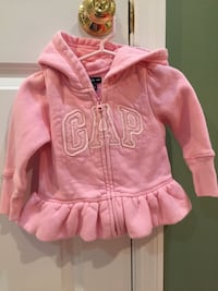 Baby girl pink Gap hooded sweatshirt Bartlett, 60103