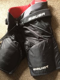 pair of black leather boots with box Edmonton, T5H