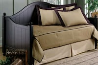 black and white travel cot Parker, 80134