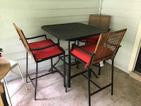 black and brown wooden dining table set Altamonte Springs, 32701