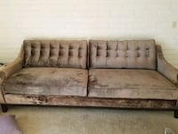 Two- toned-- wooden framed gray padded, softsofa Scottsdale, 85251