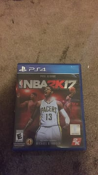 NBA2k17 Sony PS4 game case